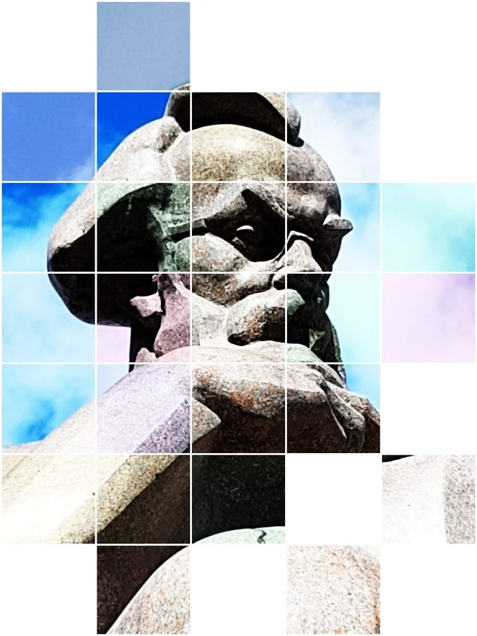 Обзор памятника академику Владимиру Вернадскому в Киеве (+местоположение +фото монумента с разных ракурсов +виды окружающей территории)