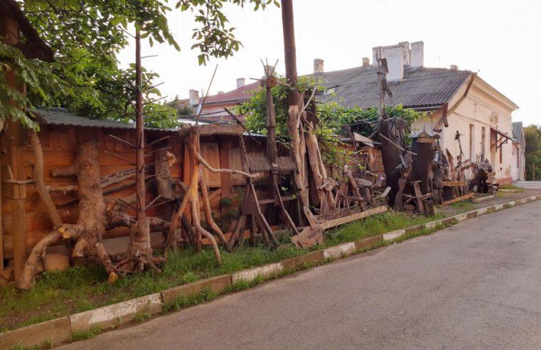 Виставка коренепластики (дерев'яних скульптур) у Вижниці