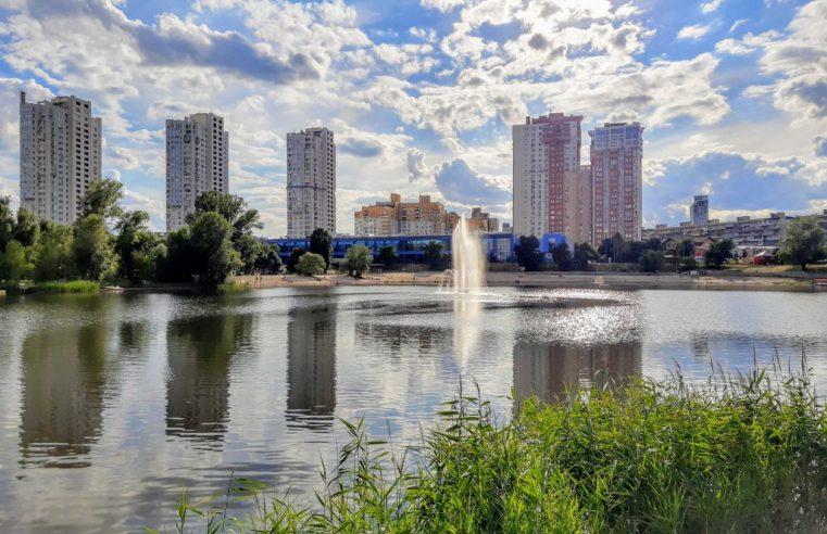 Обзор озера Тельбин в Киеве (+42 фото)